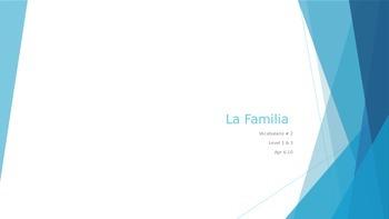 Additional Vocabulario La Familia
