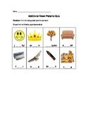 Additional Vowel Patterns Quiz