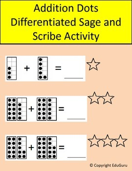 Additions Dots Differentiated Sage and Scribe Activity