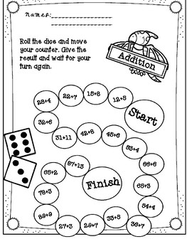 Additions (Fun Math) Adding Ladder Game