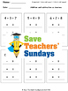 Additions and subtraction fact families lesson plans, worksheets and more