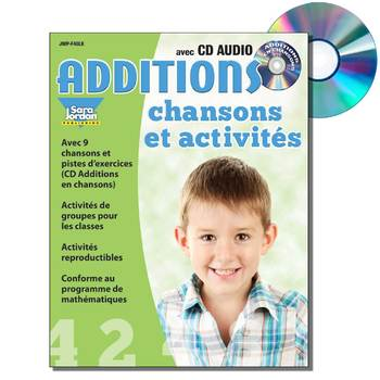 French Math Songs (Addition) - MP3 Album w/ Lyrics & Activities