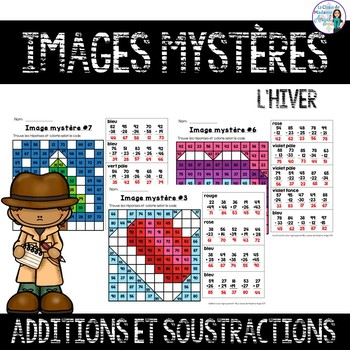 Additions et Soustractions:  French Two-digit Addition and Subtraction