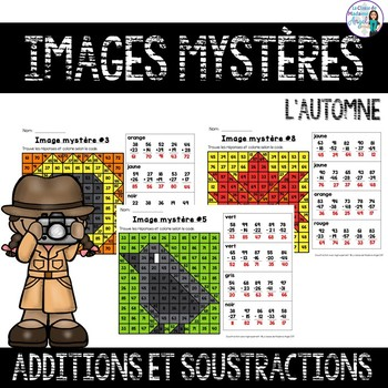 Additions et Soustractions:  Two-digit Addition and Subtraction in French