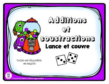 Additions et soustractions : Lance et couvre