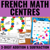 Additions et soustractions à 3 chiffres - 3-Digit Addition & Subtraction Centers