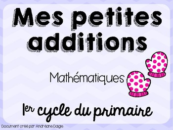 Additions mittens - Mitaines d'additions