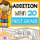 Coloring Pages Addition Worksheets Summer Color by Number