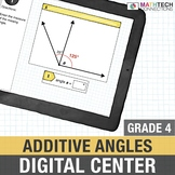 Additive Angle Measures - 4th Grade Digital Math Activities for Google Drive