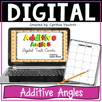 Digital Task Cards for Additive Angles