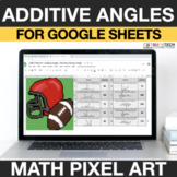 Additive Angles Google Sheets | 4th Grade Math Mystery Pic