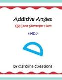 Additive Angles QR Code Scavenger Hunt - 4.MD.7