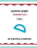 Additive Angles Scavenger Hunt - 4.MD.7