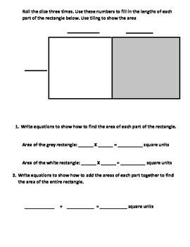 Additive Area and Rectilinear Area Centers