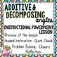 Additive & Decomposing Angles Lesson
