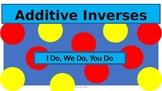 Additive Inverses 7.NS1a