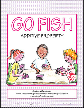 Additive Property Go Fish Game