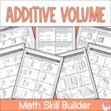 Additive Volume Worksheets