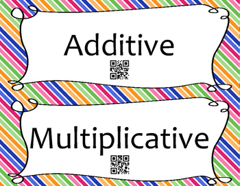 Additive and Multiplicative Relationship Sort
