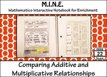 Additive and Multiplicative Relationships {Comparing}
