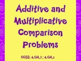 Additive and Multiplicative Word Problems and Activity