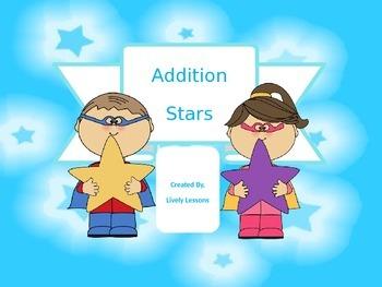 Additon Stars Interactive PowerPoint Game