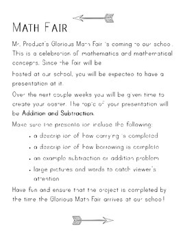 Additon and Subtraction Project