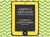 Additon and Subtraction Review/Scoot (With Some Regrouping)