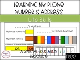 Address & Phone Number Colour Matching