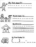 Address & Phone Number Practice