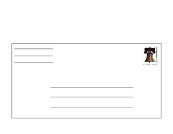 Addressing an Envelope 2