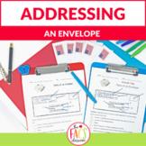 Life Skills Addressing an Envelope Print and Digital