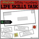 Addressing an Envelope - Christmas Life Skills Center