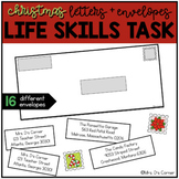 Addressing an Envelope - Christmas Life Skills Center