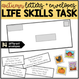 Addressing an Envelope - Fall / Autumn Life Skills Center