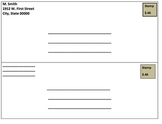 Addressing an Envelope Graphic Organizer
