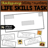 Addressing an Envelope - Thanksgiving Life Skills Center