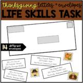 Addressing an Envelope - Thanksgiving Life Skills Center