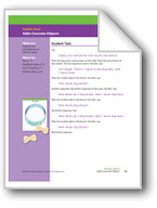 Adds Concrete Objects (Math Assessment PreK)