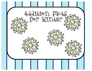 Addtion Facts - Winter