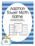 Addtion Tower Math Game {Interactive & Hands On} 1.OA.6