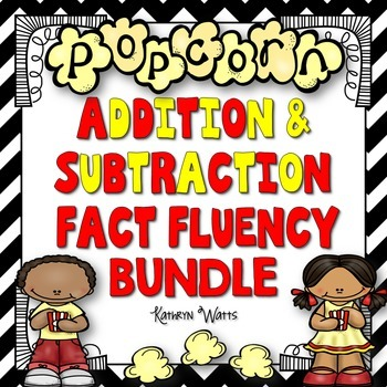 Addition and Subtraction Fact Fluency Bundle