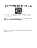 Addtion and Subtraction Problem of the Day (Homework)