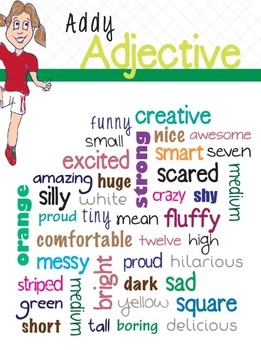 Addy Adjective Poster