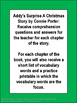 Addy's Surprise A Christmas Story Literacy Packet