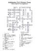 Adelante Unit 1 Crossword Puzzles