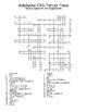 Adelante Unit 5 Crossword Puzzles