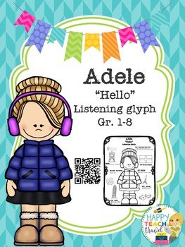 "Adele ""Hello"" listening glyph"