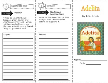Adelita by Tomie dePaola ~ Guided Reading Trifold