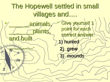 Adena, Hopewell and Late Woodland Powerpoint